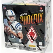 2018 Panini Phoenix Football Hobby 8 Box Case
