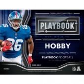 2018 Panini Playbook Football Hobby 8 Box Case + 16 Kickoff Packs