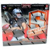2018 Panini Spectra Football Hobby 8 Box Case