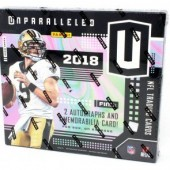 2018 Panini Unparalleled Football Hobby Box