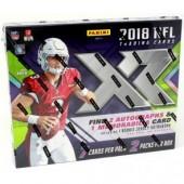 2018 Panini XR Football Hobby 15 Box Case