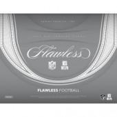 2018 Panini Flawless Football Hobby 2 Box Case