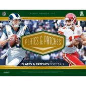 2018 Panini Plates & Patches Football Hobby Box