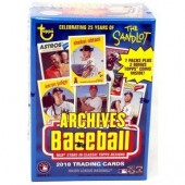 2018 Topps Archives Baseball Blaster 16 Box Case