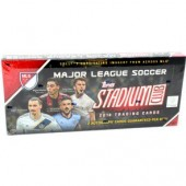 2018 Topps Stadium Club MLS Soccer Hobby 16 Box Case