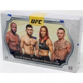 2018 Topps UFC Museum Collection Hobby 12 Box Case