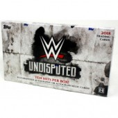 2018 Topps WWE Undisputed Hobby Box
