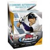 2018 Topps Finest Baseball Hobby 8 Box Case