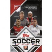 2018 Topps MLS Soccer Hobby 12 Box Case