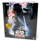 2018 Topps Star Wars Galaxy Hobby 12 Box Case