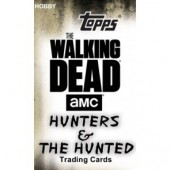 2018 Topps The Walking Dead Hunters and Hunted Hobby 8 Box Case