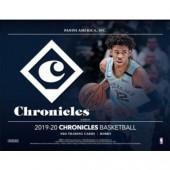 2019/20 Panini Chronicles Basketball Hobby 12 Box Case