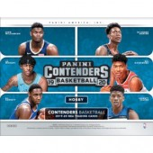2019/20 Panini Contenders Basketball Hobby 12 Box Case