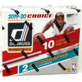 2019/20 Panini Donruss Choice Basketball Box