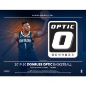 2019/20 Panini Donruss Optic Basketball Fast Break 20 Box Case