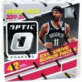 2019/20 Panini Donruss Optic Basketball 42 Card Mega 20 Box Case