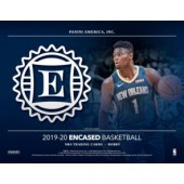 2019/20 Panini Encased Basketball Hobby 8 Box Case