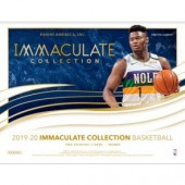 2019/20 Panini Immaculate Basketball Hobby 5 Box Case