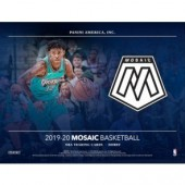 2019/20 Panini Mosaic Basketball Hobby 12 Box Case
