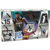 2019/20 Panini Mosaic Basketball 1st Off The Line Hobby 12 Box Case