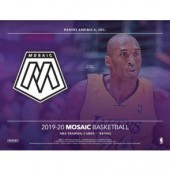 2019/20 Panini Mosaic Basketball Blaster 20 Box Case