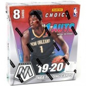 2019/20 Panini Mosaic Choice Basketball 20 Box Case