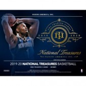 2019/20 Panini National Treasures Basketball Hobby 4 Box Case