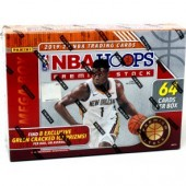 2019/20 Panini NBA Hoops Premium Stock Basketball 64 Card Mega Box