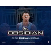 2019/20 Panini Obsidian Basketball Hobby 12 Box Case