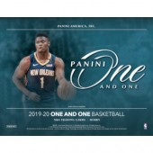 2019/20 Panini One and One Basketball Hobby 10 Box Case