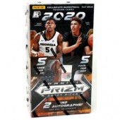 2020/21 Panini Prizm Draft Picks Collegiate Basketball Fast Break 20 Box Case