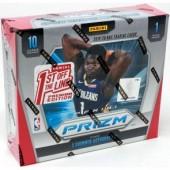 2019/20 Panini Prizm Basketball Premium 1st Off The Line Hobby 20 Box Case