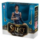 2019/20 Panini Select Basketball Premium 1st Off The Line Hobby 12 Box Case