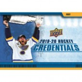 2019/20 Upper Deck Credentials Hockey Hobby 20 Box Case