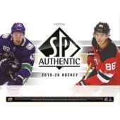 2019/20 Upper Deck SP Authentic Hockey Hobby 8 Box Case