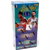 2019/20 Panini Absolute Memorabilia Basketball Hobby 10 Box Case