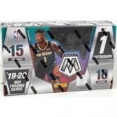 2019/20 Panini Mosaic Basketball Hobby 12 Box Case