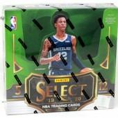 2019/20 Panini Select Basketball Hobby 12 Box Case