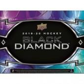 2019/20 Upper Deck Black Diamond Hockey Hobby 5 Box Case