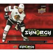 2019/20 Upper Deck Synergy Hockey Hobby 10 Box Case