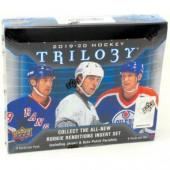2019/20 Upper Deck Trilogy Hockey Hobby 10 Box Case