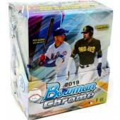 2019 Bowman Chrome Baseball Hobby 12 Box Case