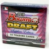2019 Bowman Draft Baseball Sapphire Edition Box
