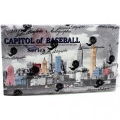 2019 Historic Autographs Capitol of Baseball Series 2 Baseball 10 Box Case