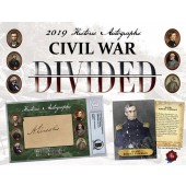 2019 Historic Autographs Civil War Divided Box