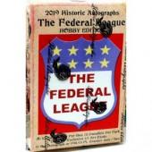 2019 Historic Autographs Fed League Baseball 16 Box Case