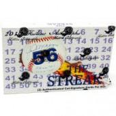 2019 Historic Autographs The Streak Baseball 11 Box Case