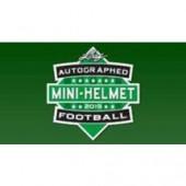 2019 Leaf Autographed Mini Helmet Football 10 Box Case