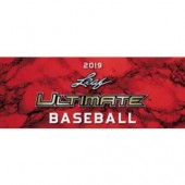 2019 Leaf Ultimate Baseball Hobby 12 Box Case