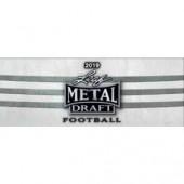 2019 Leaf Metal Draft Football Hobby 15 Box Case
